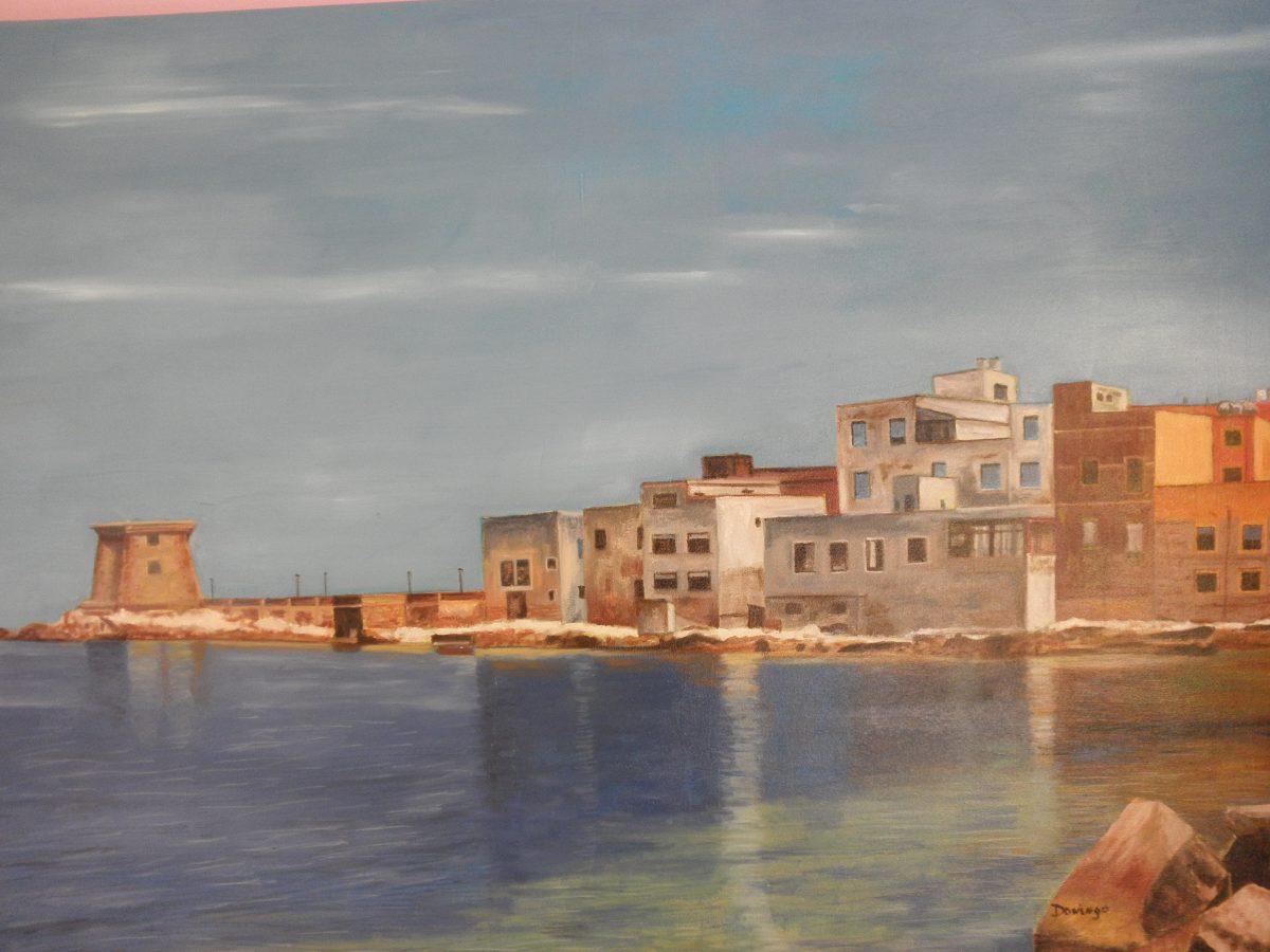 cuadro pintura oleo