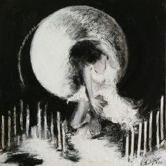Silueta de Luna